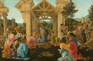 The Adoration of the Magi Sandro Botticelli, Florence, c. 1478-82