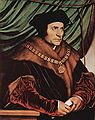 Sir Thomas More - by Hans Holbein the Younger - 1527