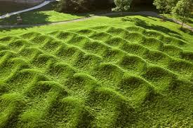"""Wave Field"" Maya Lin"