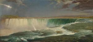 """""""Niagra Falls"""" Frederic Edwin Church, 1857, American"""