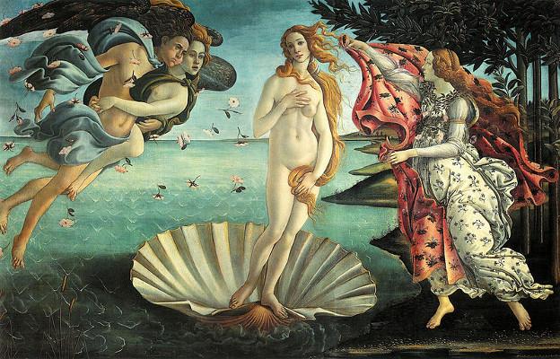 """The Birth of Venus"" Sandro Botticelli - Florence, Italy C. 1486"
